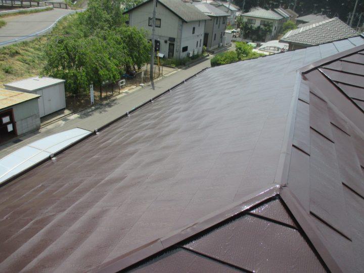 千曲市屋根遮熱塗装工事