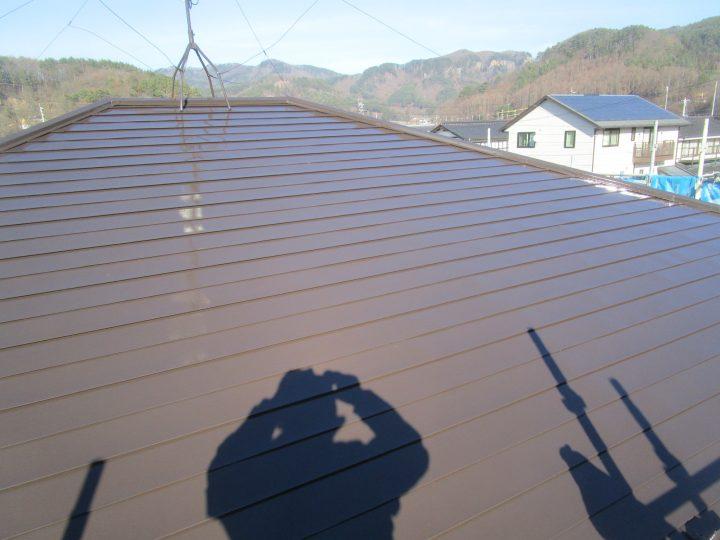 佐久市屋根塗装工事