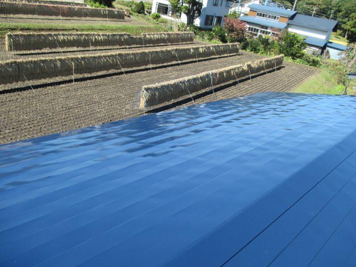 信濃町柏原屋根塗装工事