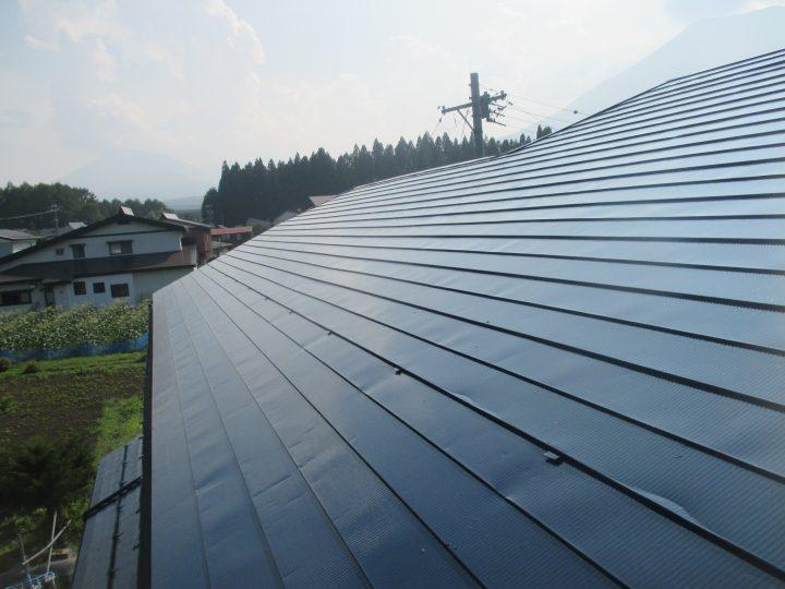信濃町屋根塗り替え工事