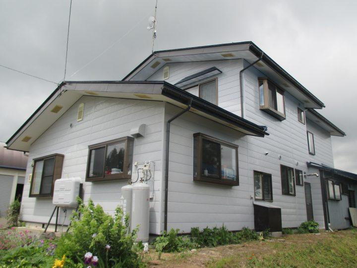 信濃町野尻住宅塗装工事