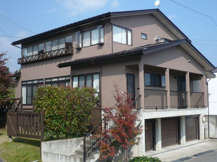 飯綱町外装(窯業サイディング・トタン屋根)塗り替えリフォーム