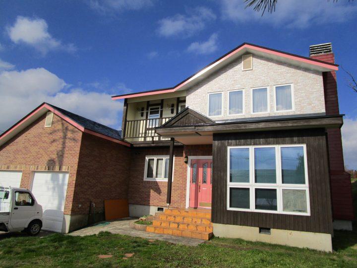 信濃町K様 外壁・屋根塗装工事