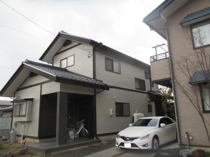 長野市K様 外壁塗装工事