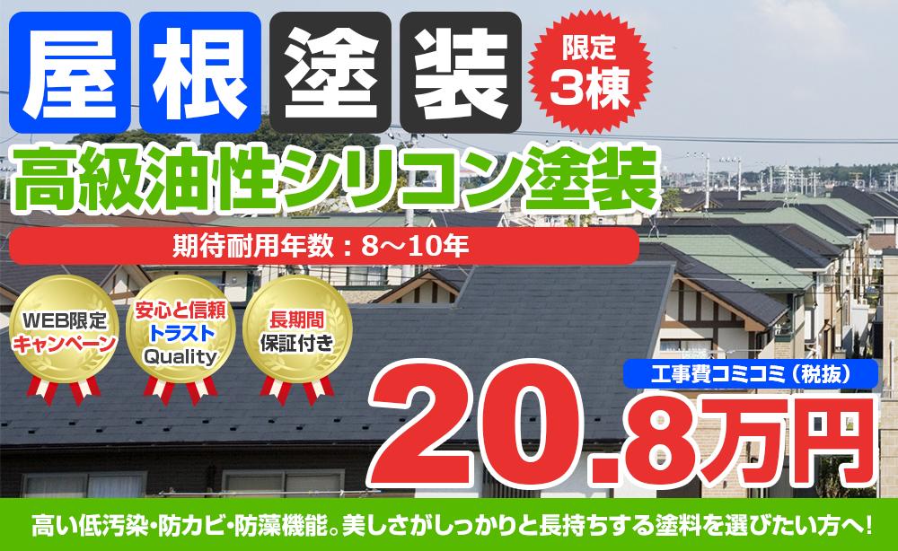高級油性シリコン塗装 20.8万円