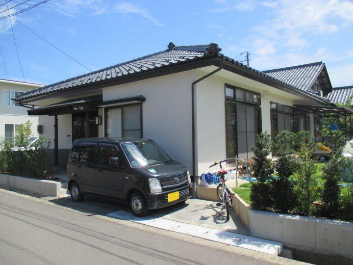 長野市S様 平屋外壁塗装工事