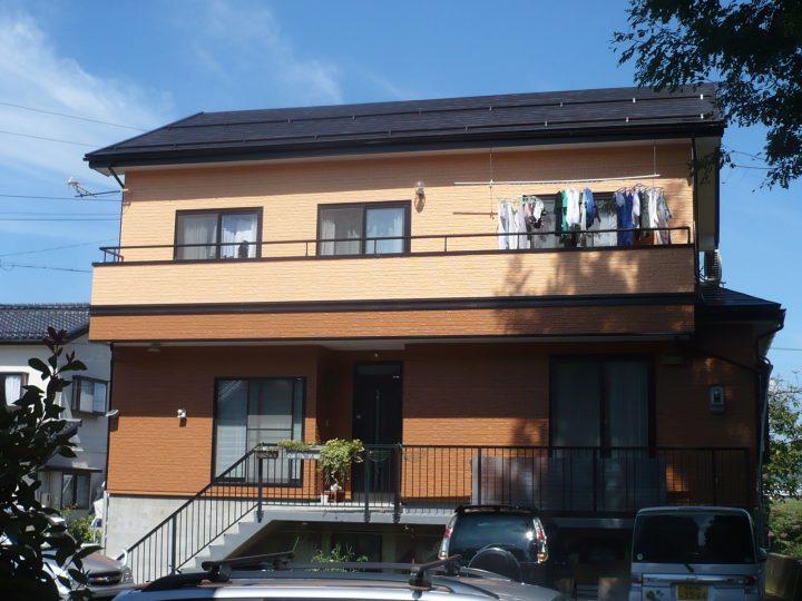 長野市外装塗り替え工事