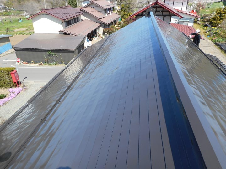 飯綱町屋根塗装工事