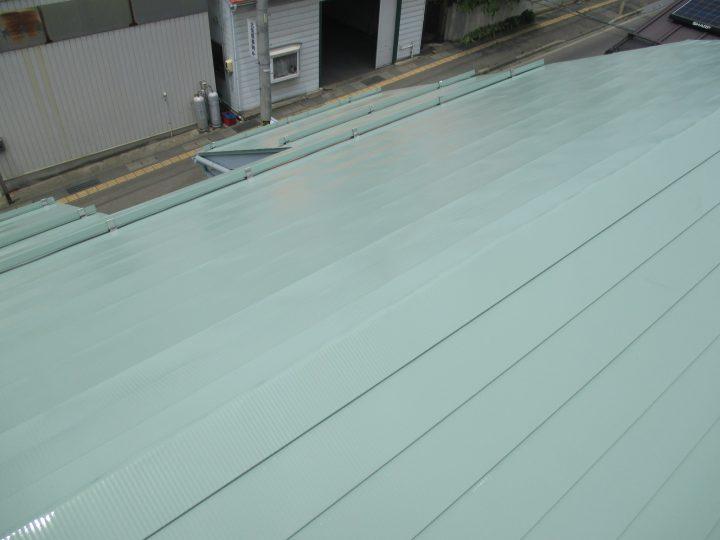 中野市屋根塗装工事