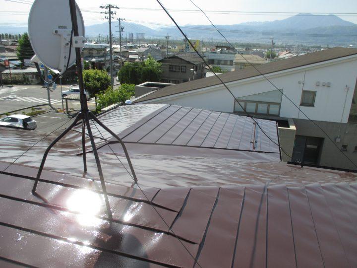 須坂市屋根塗りかえリフォーム
