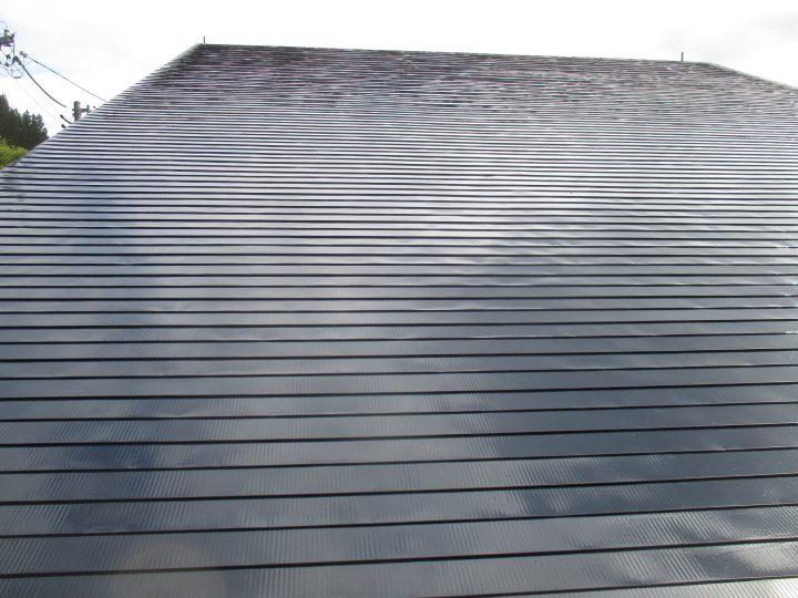 信濃町荒瀬原屋根塗装工事