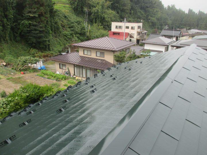 山ノ内町屋根塗装工事