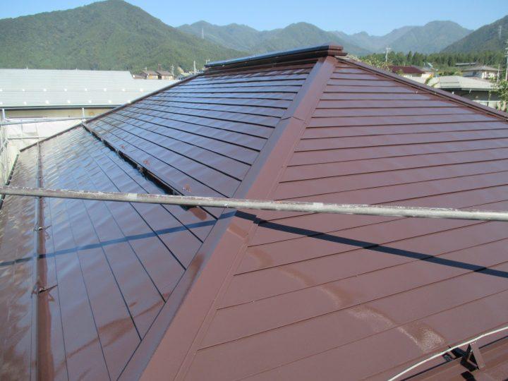 高山村K様 屋根塗装工事