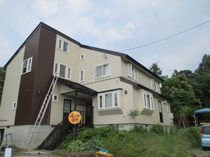 木島平村外装(屋根・外壁)塗装工事