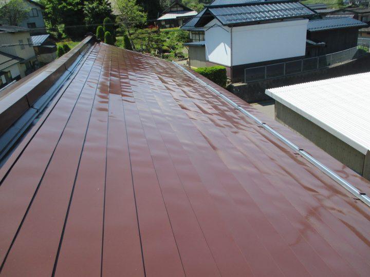 飯綱町平出屋根塗装工事
