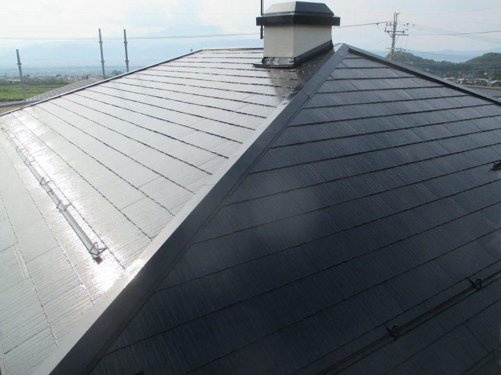 須坂市パナホーム屋根塗装工事