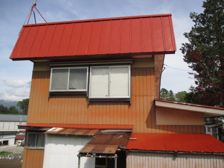 飯山市K様 屋根塗装工事