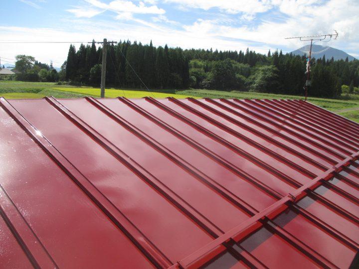 信濃町K様 屋根塗装工事