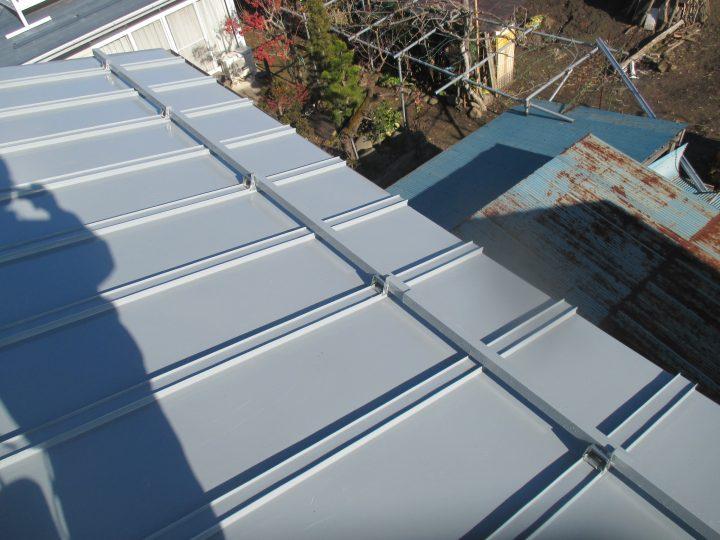 長野市豊野屋根塗装工事