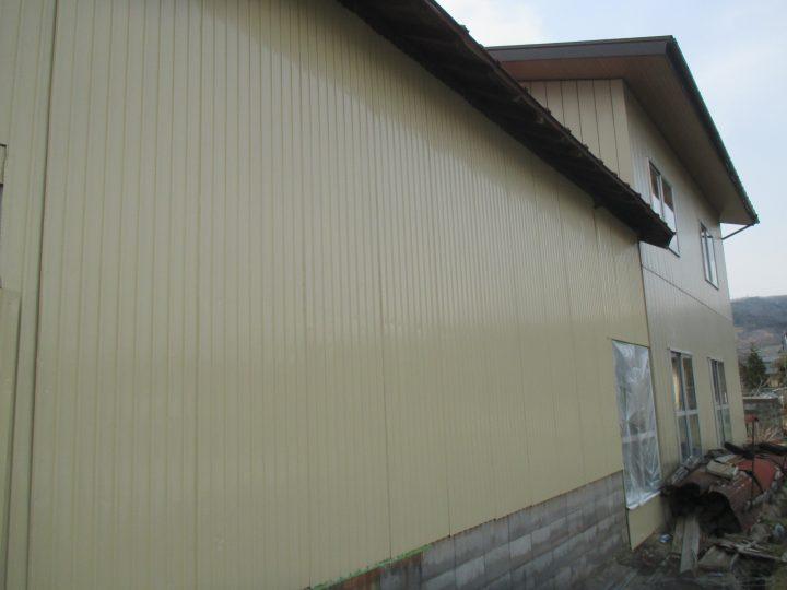 中野市倉庫外装塗装工事