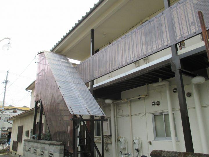 長野市アパート外壁塗装工事