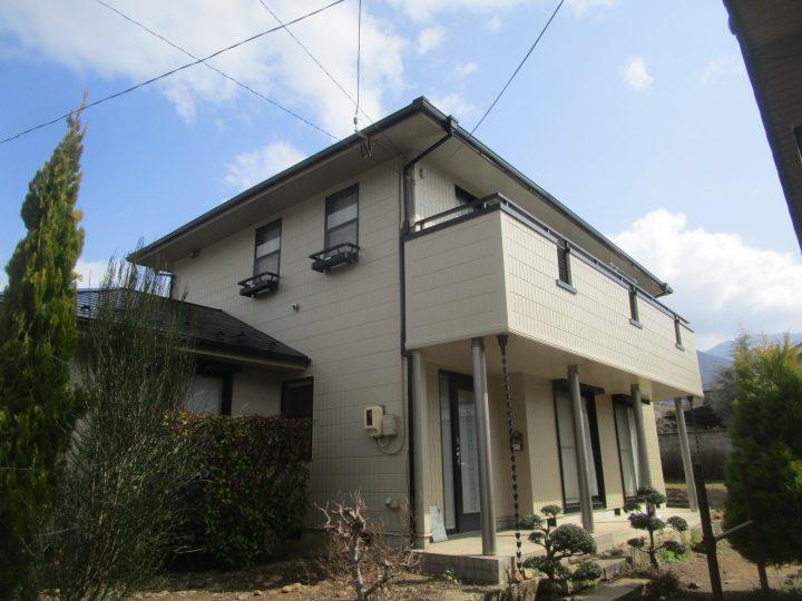 坂城町屋根、外壁塗装、ベランダ防水改修工事