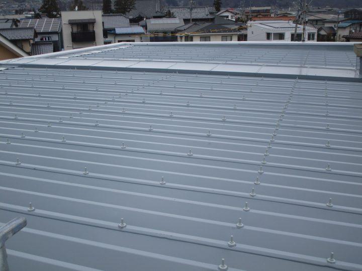 長野市三輪アパート屋根塗装工事