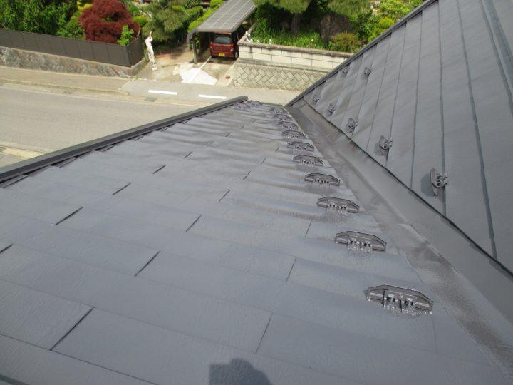 東御市屋根塗装工事