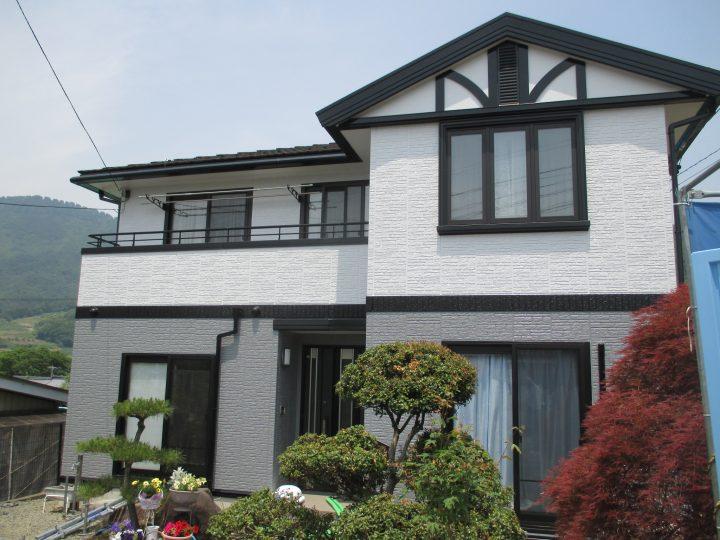 坂城町ダイワハウス外壁塗り替え工事