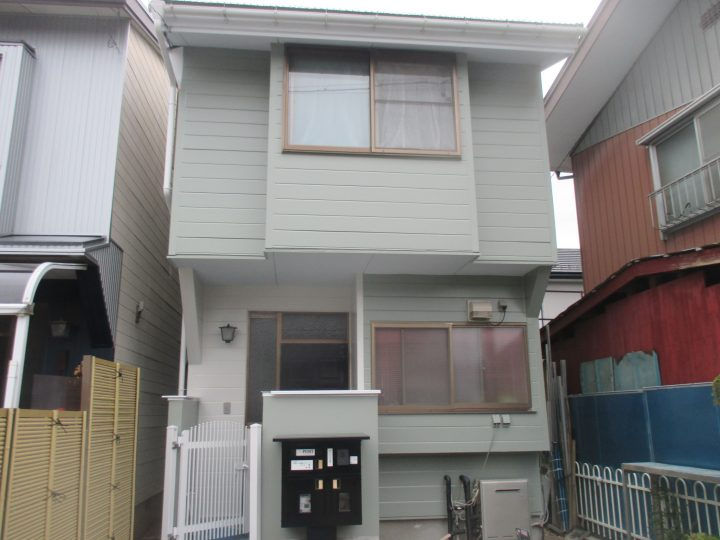 長野市川合新田外壁塗り替え工事