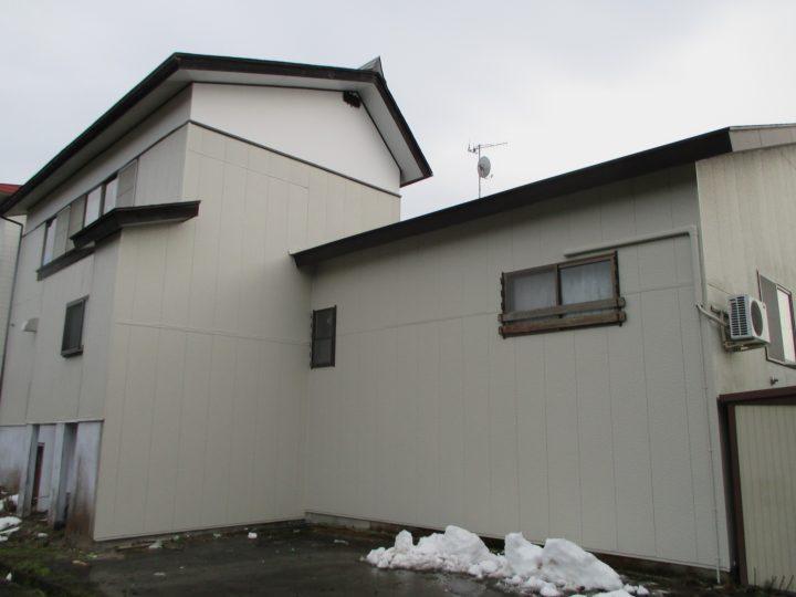 信濃町外壁凍害補修および塗装工事
