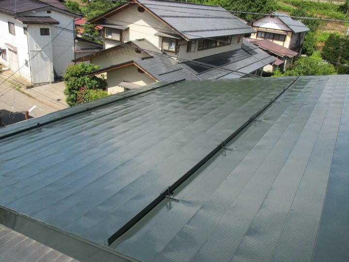 中野市S様 屋根塗装工事