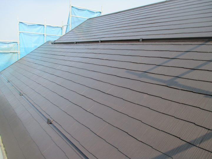 長野市若穂屋根塗装工事