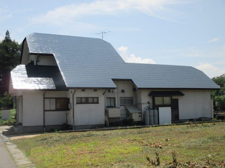 信濃町屋根塗装工事