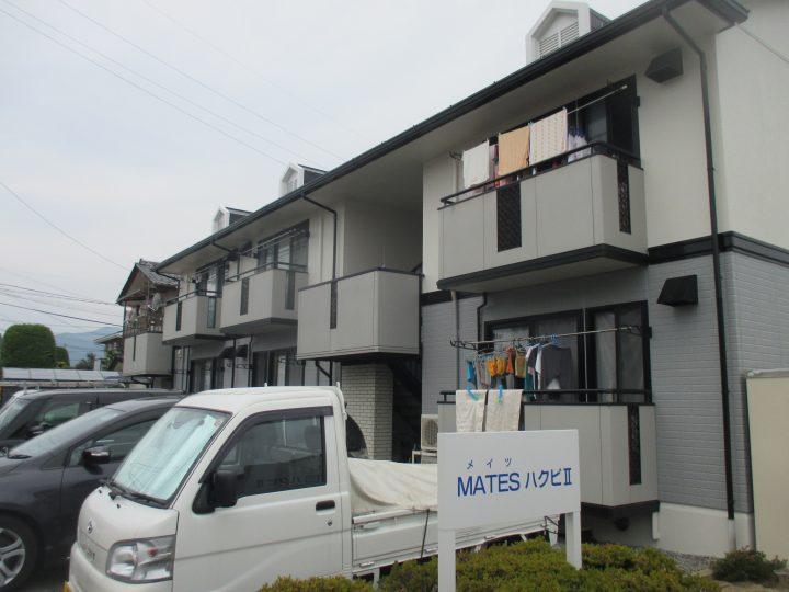 長野市稲葉ダイワハウスアパート塗装工事
