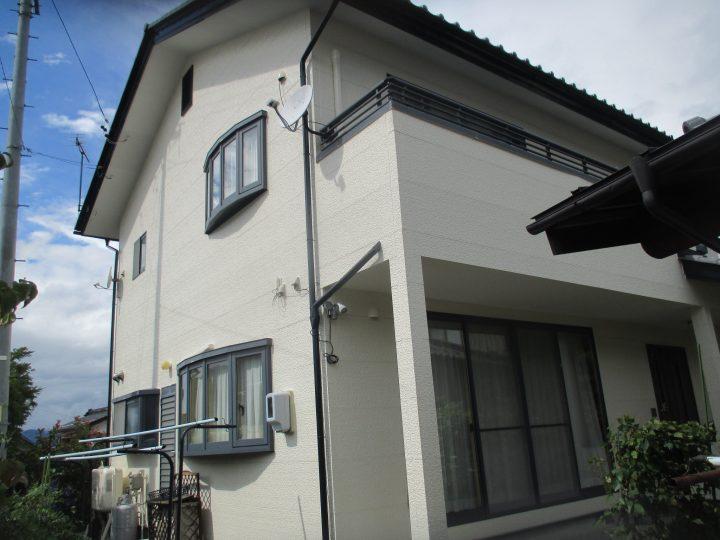 長野市若穂外壁塗り替えリフォーム