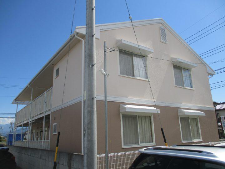 長野市ダイワハウスアパート塗り替え工事