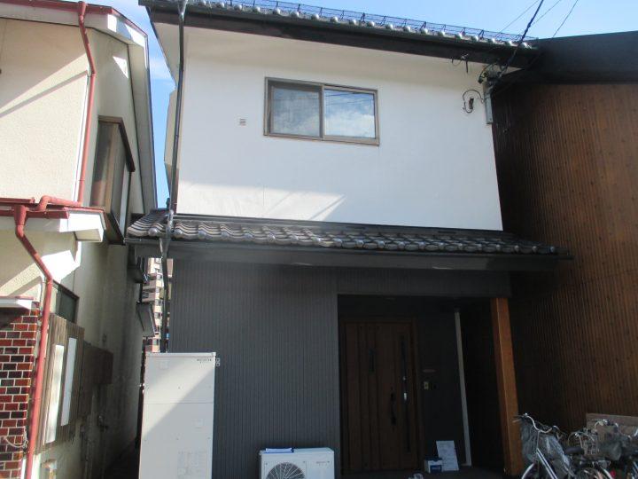 長野市三輪外壁改修工事