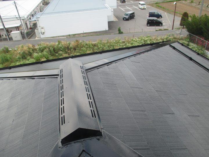 中野市スレート屋根塗装工事