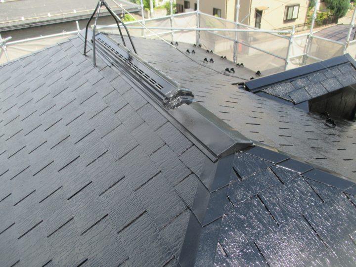 中野市T様 屋根塗装工事