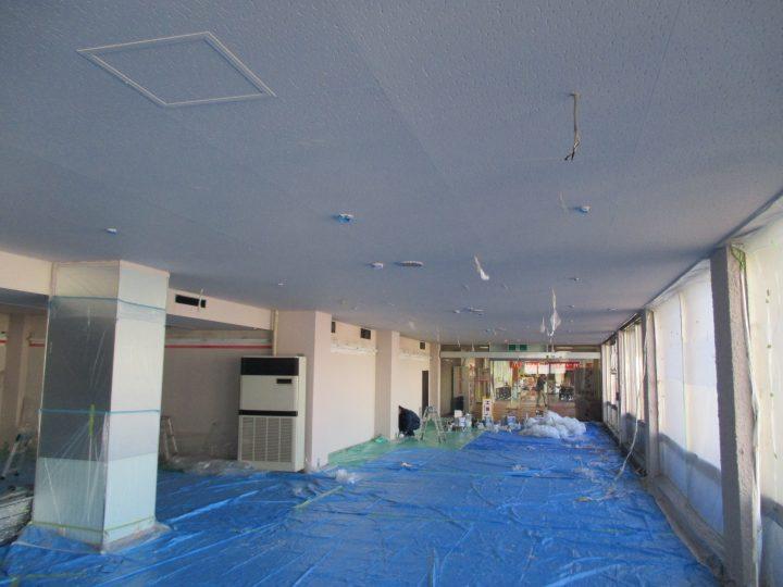 長野市テナントビル内装塗装工事