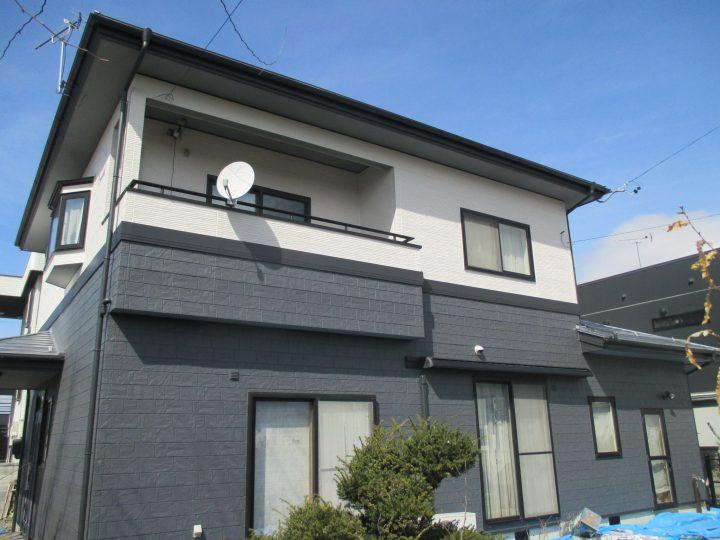長野市松岡外壁塗装、屋根塗装工事