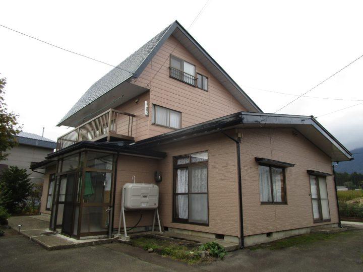 信濃町K様 外壁屋根塗装工事