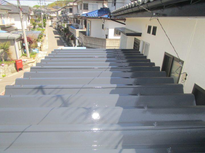 上田市S様 屋根塗装工事