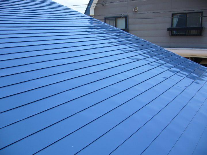 飯山市屋根塗装工事