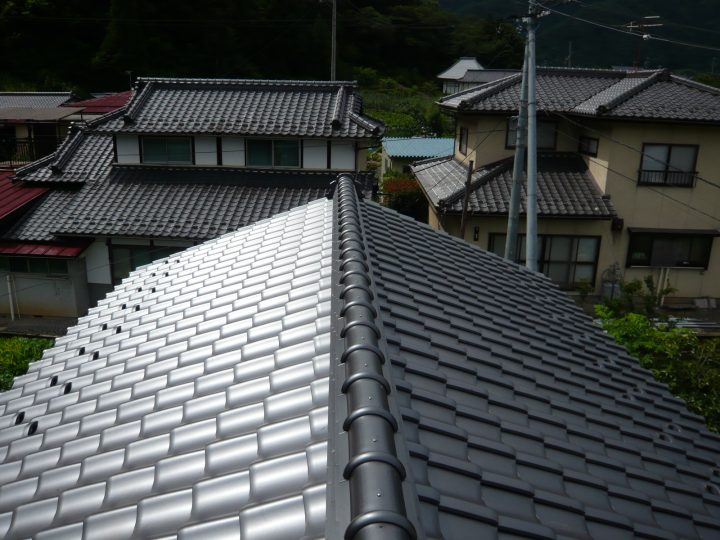 長野市セメント瓦葺き替え工事