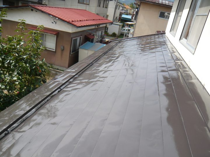長野市屋根剥離塗装工事