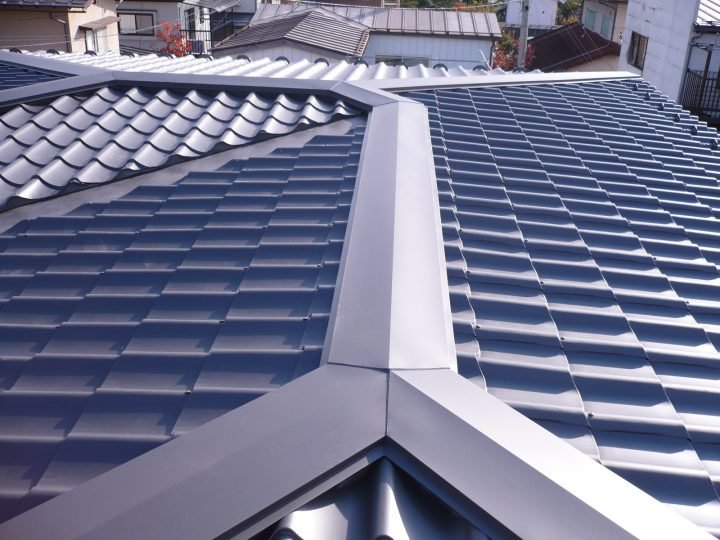 長野市屋根葺き替え工事