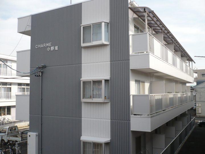 長野市アパート塗り替えリフォーム工事