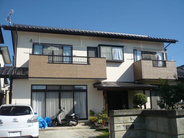 長野市外壁塗り替え工事